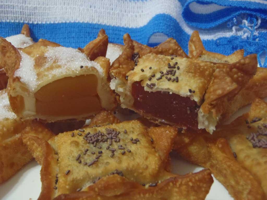 Pastelitos de membrillo y batata
