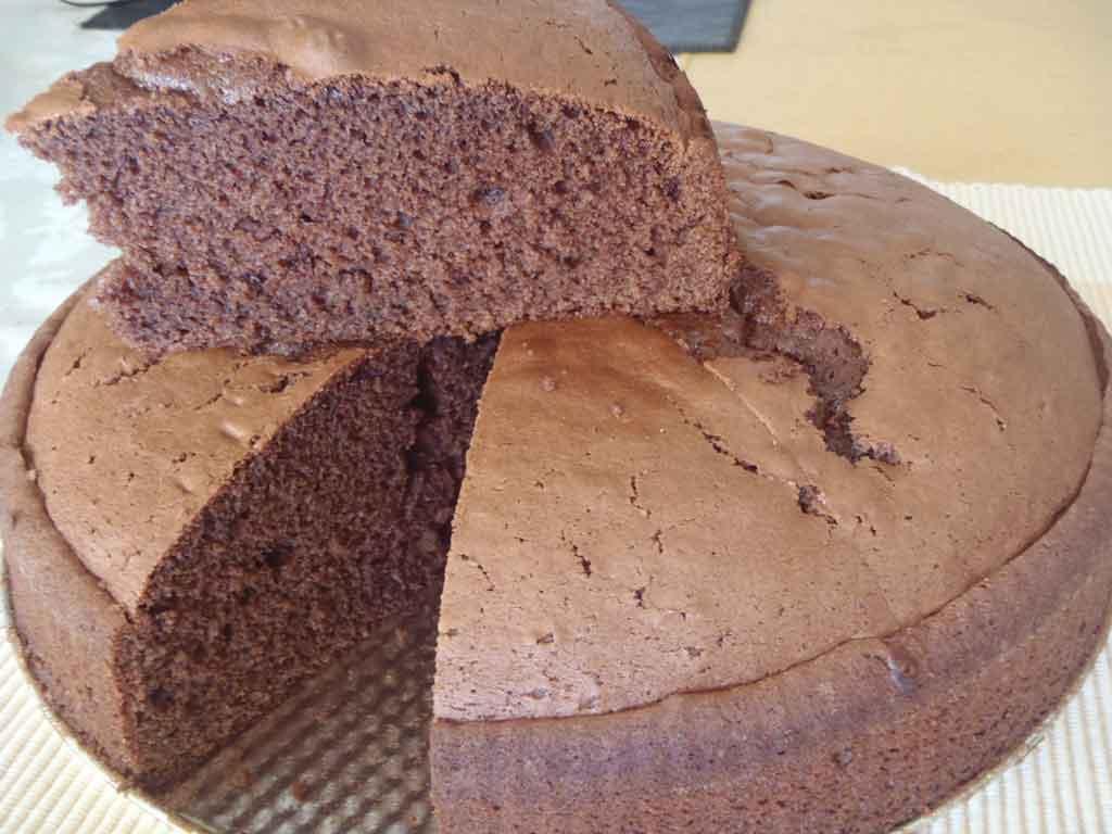 Cake De Chocolate Receta Facil