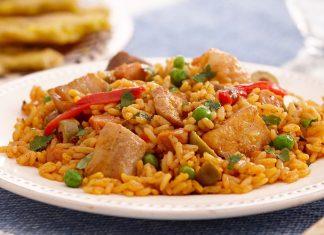 Receta de arroz con pollo fácil y rápido