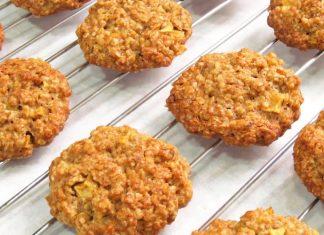 Receta galletas de avena fácil para la hora del té