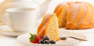 Recetas de tortas fáciles: Torta de vainilla clásica