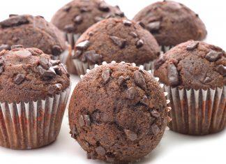 Receta de muffins fácil: muffins de chocolate