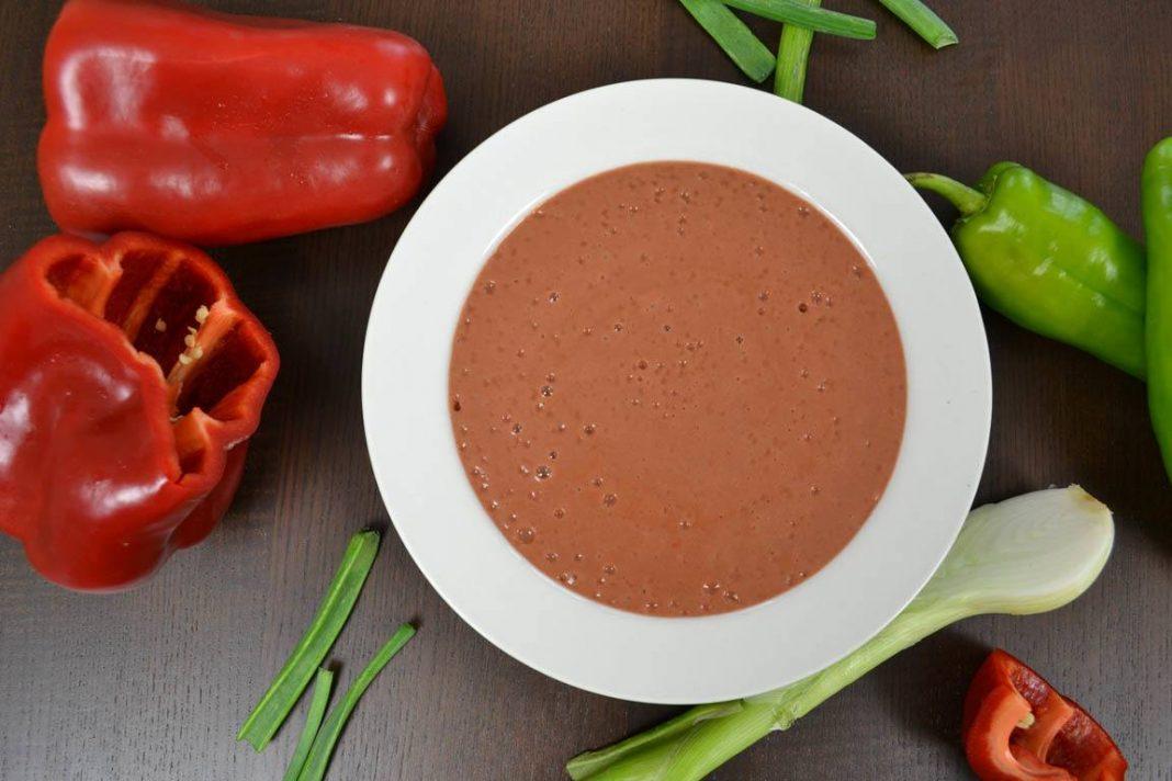 Recetas de sopas fáciles para preparar rápido: crema de porotos colorados
